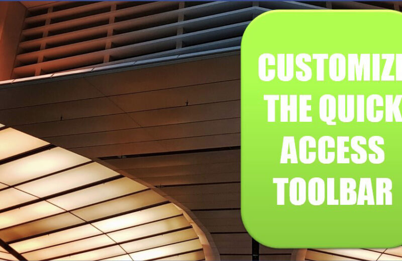 Excel 2020: personalize a barra de ferramentas de acesso rápido